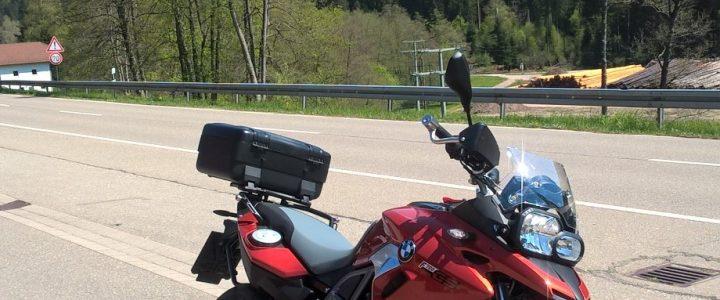 Den Jakobsweg mit dem Motorrad fahren